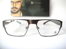 ee66400e166 Freudenhaus Titanium 53-17 140 Medium Gun Newton 4 Eyeglass Frames Mens