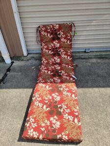 Pillow Perfect Outdoor/Indoor Monserrat / Montifleuri Chaise Lounge Cushion $159