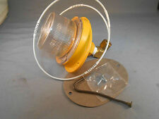 2320-1730 12 VDC CLEAR  DOME LIGHT HARSCO YELLOW OR GREEN NEW OLD STOCK