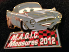 Disney DLR Cast Award Magic Measures 2012 Cars Finn McMissile Pin