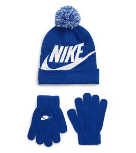 Nike Swoosh Beanie & Gloves Set, One size
