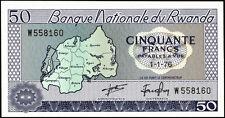 Ruanda / Rwanda 50 Francs 1976 Pick 7c (1)