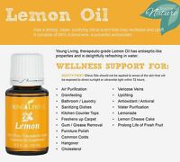 ***Young Living Lemon essential oil*** 15 ml, 100% pure Wellness Support