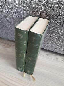2 Livres HOMERE L'ILIADE L'ODYSSÉE BIBLIOPHILE Très bon état book old