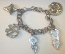 Vintage Oriental Charm Bracelet With Unusual Charms