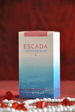 ESCADA INTO THE BLUE EDP 75ml, Discontinued, Very Rare, New In Box, Sealed
