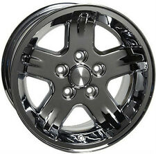 "15"" Wheels For Jeep Grand Cherokee Wrangler 15x8.0 5x114.3 Chrome Rims Set of 4"