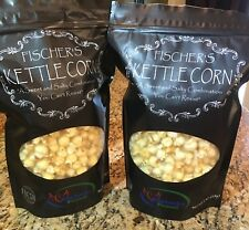 "Fischer's Kettle Corn ""Sweet and Salt combination you cant resist! JUMBO Gourmet"