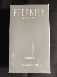 Calvin Klein-Eternity Men Cologne EDT Spray. 3.3oz/100ml. New & Sealed.