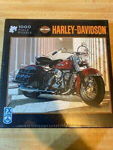 Harley Davidson FX Schmid 1000 Piece Puzzle San Fran Pan  NEW Sealed 78345