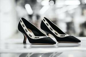 NWOB Christian Dior Black/White Savoir-Faire J'Adior Pumps/Shoes EUR 38/US 8