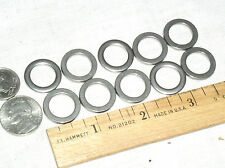 """10 SS STAINLESS STEEL FLAT WASHER 3/4"""" .75"""" 19MM OD 1/2 .50"""" 12.7MM ID .085 THK"""