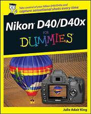 USED (GD) Nikon D40/D40x For Dummies by Julie Adair King