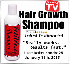 NUTRIFOLICA HAIR LOSS REGROWTH SHAMPOO stop receding hair loss alopecia thinning