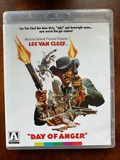 Day of Anger Blu-ray 1967 Spaghetti Western Classic Arrow Video w/ Lee Van Cleef