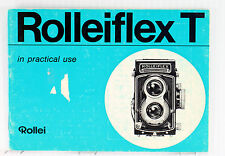 Original Rolleiflex T Type I Manual - in English, December 1965, 28 pages