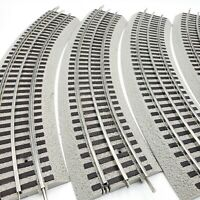 Lionel FASTRACK O36 Full Curved Track O-36  LOT OF 4
