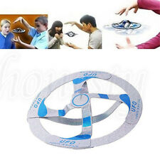 1PC Amazing Mystery UFO Floating Flying Disk Saucer Magic Cool Trick Toy 13X13CM