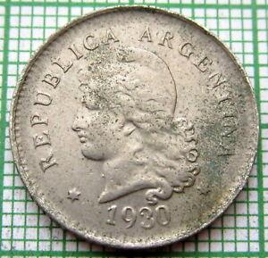 ARGENTINA 1930 10 CENTAVOS