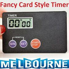 Timer Countdown Pocket Kitchen Study Rest Kitchen Cooking Fancy Fashion Card #SC