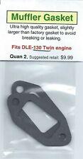 DLE-130 Twin Exhaust/Muffler Gasket 2 Pack NIP