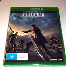 Final Fantasy 15 días 1 edición Importación, Nuevo Y Sellado dañado Case BOX87 02 G