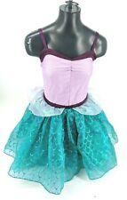 N Disney Store ARIEL Mermaid Glitter Costume Dress XXS