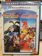 Wallace & Gromit: Curse Were-Rabbit & Chicken Run [New Dvd] Widescreen