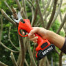 36V Pro Cordless Electric Pruning Shears Garden Secateur Branch Cutter Tool 25mm