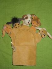 Occasion Marionnettes à main /gant / doigts animaux (chien/âne/vache/mouton)