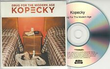 KOPECKY Drug For The Modern Age 2015 UK numbered 12-track promo test CD