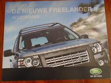 LAND ROVER FREELANDER 2 ACCESSORI opuscolo 2006 olandese testo?