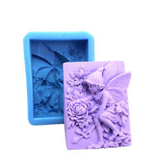 Angel Flower Fairy Silicone Soap Mold Craft Molds DIY Handmade Soap Mould