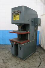 50 Ton Denison Hydraulic C Frame Press Yoder 73202