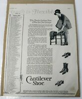 B/W Cantilever Shoe Advertisement/Campaign With Women Candidates 1922