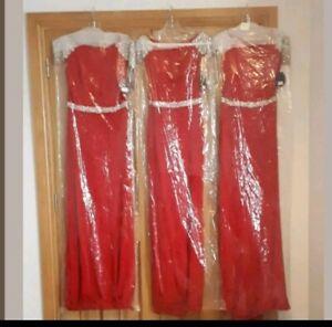 bridesmaid dresses x 3
