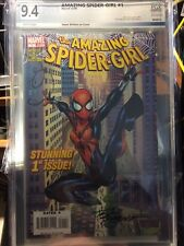 Amazing Spider-Girl #1 PGX 9.4+ Certified Graded Autographed COA 1st Day Issue