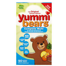 Hero Nutritional Products  Yummi Bears  Complete Multi  All Natural Fruit Flavor
