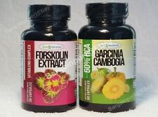 SLIM GENESIS BRAND ~ FORSKOLIN & GARCINIA CAMBOGIA ~ Diet Duo Set ~ NEW!
