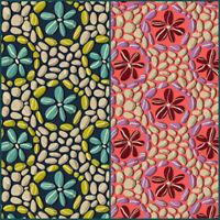 Land Art Odile Bailloeul Stone Flowers Free Spirit Cotton Quilt Fabric PWOB024