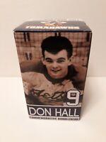 DON HALL #9 JOHNSTOWN JETS / TOMAHAWKS Hockey Bobblehead Stadium Giveaway NEW !