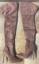 AYREL Studded Over The Knee Boots Size 6 US
