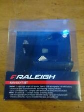Raleigh RX 10 Super Bright USB LED Front And COB LED Rear Bike Light Set LAA350
