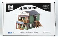 4Ground 28S-DMH-133 Dentistry and Attorney at Law (28mm Dead Man's Hand) Terrain