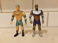 1994 Stargate Ra and Anubis Hasbro Vintage action figure Lot