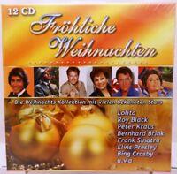 12 CD Box + Weihnachten + Abwechslungsreiche Zusammenstellung + Weihnachtslieder