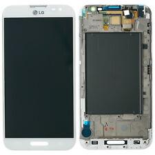 Original LG Optimus G Pro E986 E980 Display LCD Touchscreen Glas Scheibe weiß