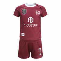 Queensland Maroons State of Origin 2020 ISC On Field Jersey Toddlers Sizes 0-4!