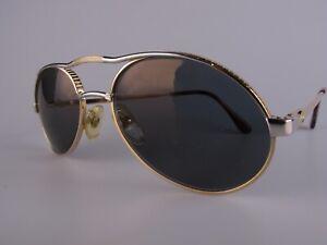 Vintage 80s Bugatti Eyeglasses Frames Size 55-19 Made in France
