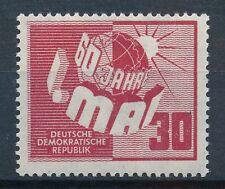 Briefmarken der DDR (1949-1954) als Einzelmarke mit Arbeitswelt-Branchen-Motiv